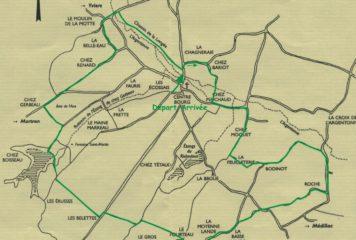 CIRCUIT DES LANDES – Fléchage vert